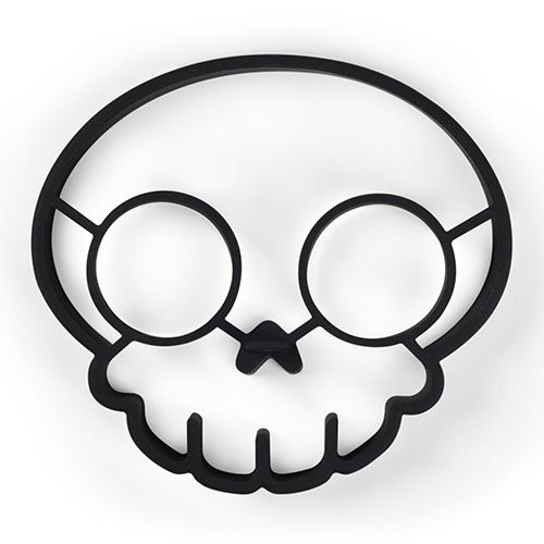 Fred Skull Funny Side Up Novelty Egg Ring