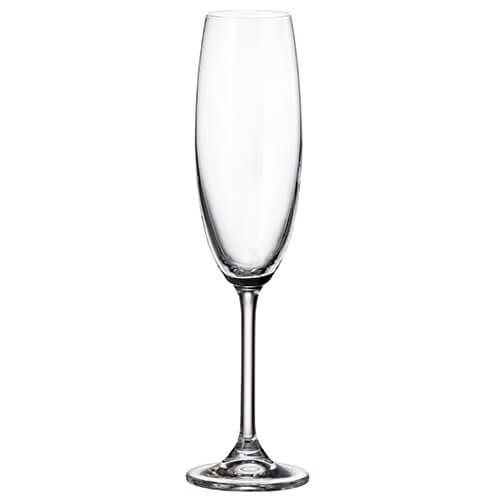 Crystalite Bohemia Colibri Set Of 6 Flute Glasses