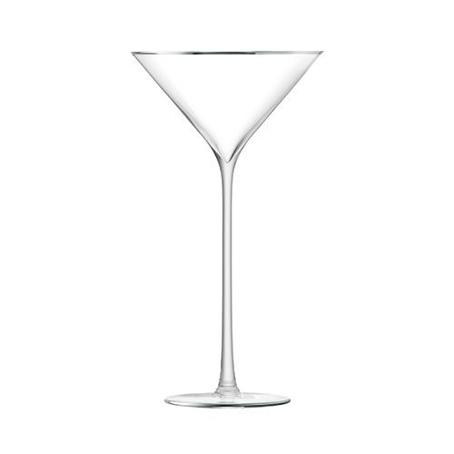 LSA Celebrate Platinum Cocktail Glass 225ml Set Of 2