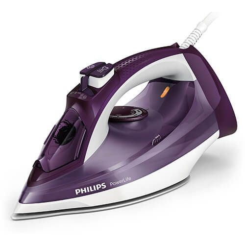 Philips 2400W Powerlife Steam Iron Purple