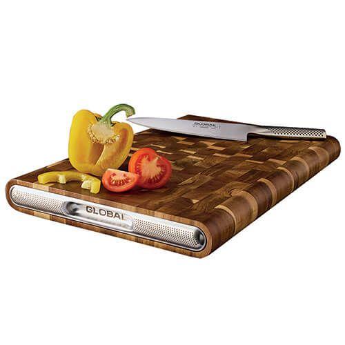 Global Acacia End Grain Cutting Board 45 x 30 x 4.5cm