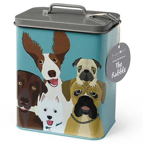 Burgon & Ball Creaturewares The Rabble Dog Tin