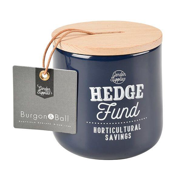 Burgon & Ball Hedge Fund Money Box - Atlantic Blue