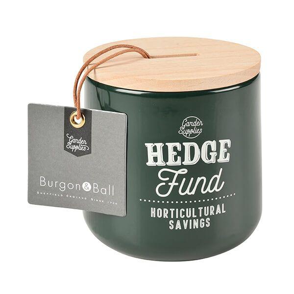 Burgon & Ball Hedge Fund Money Box - Frog