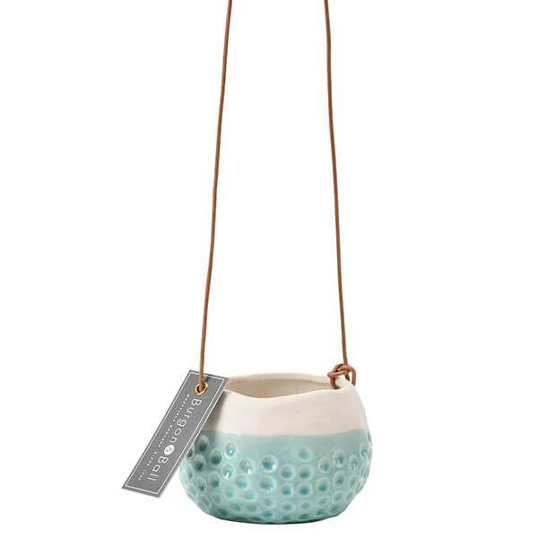 Burgon & Ball Baby Dotty Hanging Pot