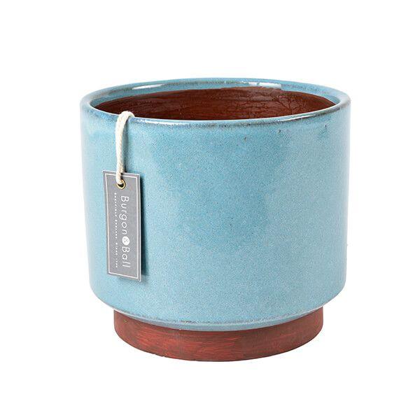 Burgon & Ball Malibu Blue Extra Large Glazed Pot