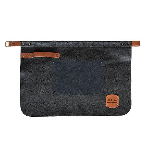 Global GL-4060 Leather Waist Apron