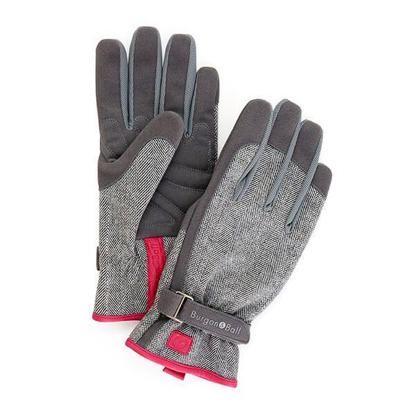 Burgon & Ball Love The Glove Grey Tweed