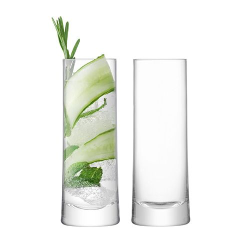 LSA Gin Highball 380ml Clear Set Of 2