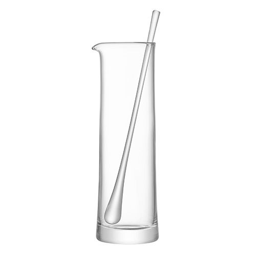 LSA Gin Cocktail Jug & Stirrer 1.1L Clear