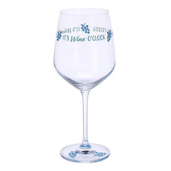 Dartington Wine Time It's Wine O'Clock