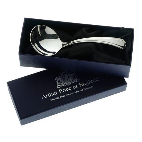 Arthur Price of England Sovereign Silver Cream Ladle Grecian
