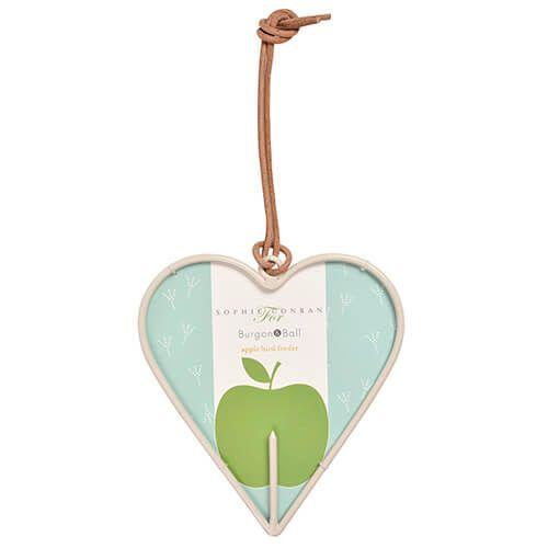Burgon & Ball Sophie Conran Apple Bird Feeder Heart