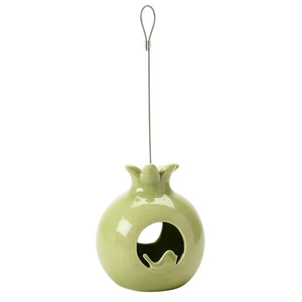 Burgon & Ball Sophie Conran Ceramic Pomegranate Bird Feeder