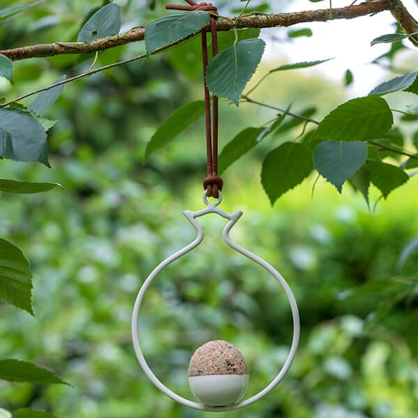 Burgon & Ball Sophie Conran Fat Ball Pomegranate Bird Feeder