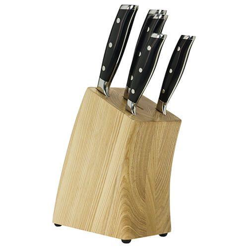 Taylors Eye Witness Traditional 5 Piece Ash Knife Block Set