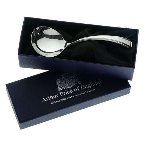 Arthur Price of England Sovereign Silver Cream Ladle Harley