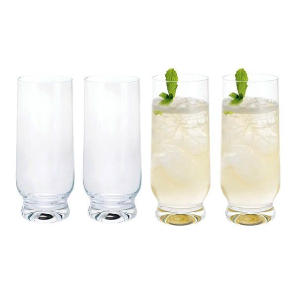 Dartington Home Bar Long Drink Glass Pack Of 4