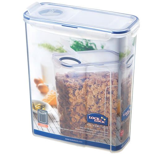 Lock & Lock 4.3 Litre Rectangular Storage Container With Flip Top Lid