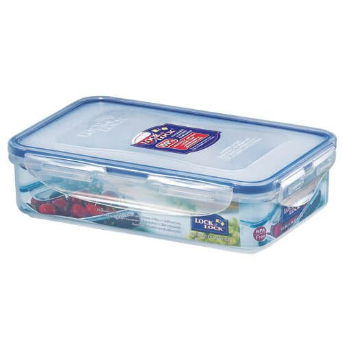 Lock & Lock 800ml Rectangular Storage Container