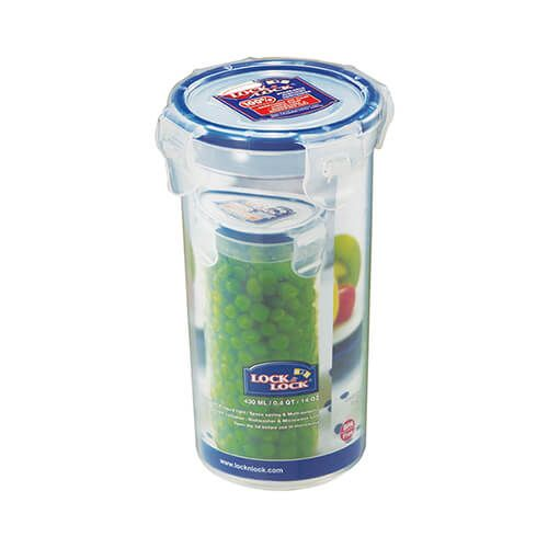 Lock & Lock 430ml Round Storage Container