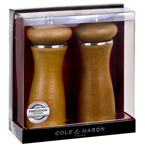 Cole & Mason Sherwood Sand Precision Mill Gift Set