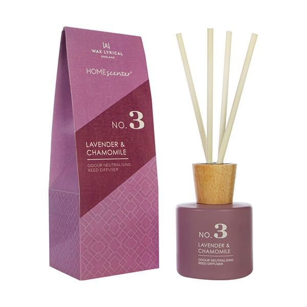 Wax Lyrical Homescenter Lavender & Chamomile Reed Diffuser 180ml