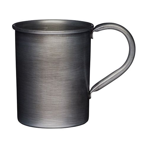 Industrial Kitchen Galvanised Steel Mug 450ml