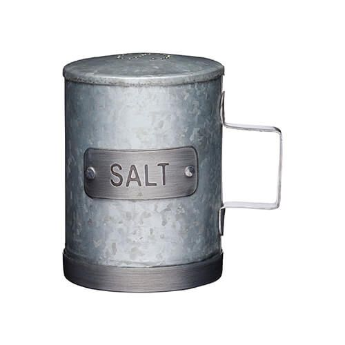 Industrial Kitchen Galvanised Steel Salt Shaker