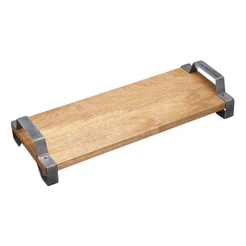 Industrial Kitchen Mango Wood Serving Tray