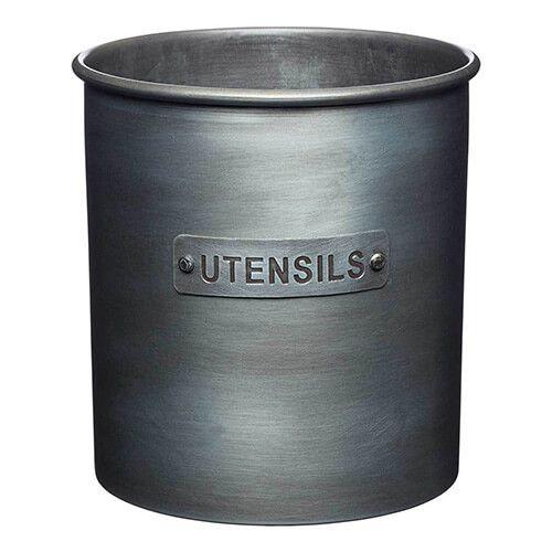 Industrial Kitchen Utensil Holder