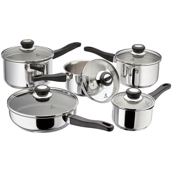Judge Vista NEW 5 Piece Draining Saucepan Set