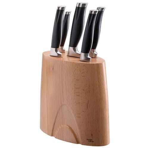 Jamie Oliver Five Piece Knife Block Set