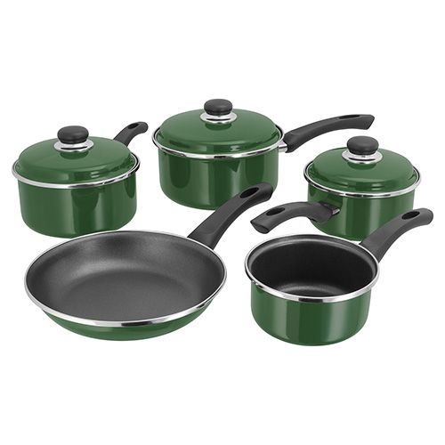 Judge Induction Green 5 Piece Set