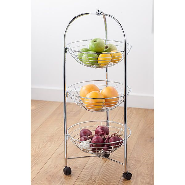 Judge Wireware 24cm Square Fruit Basket