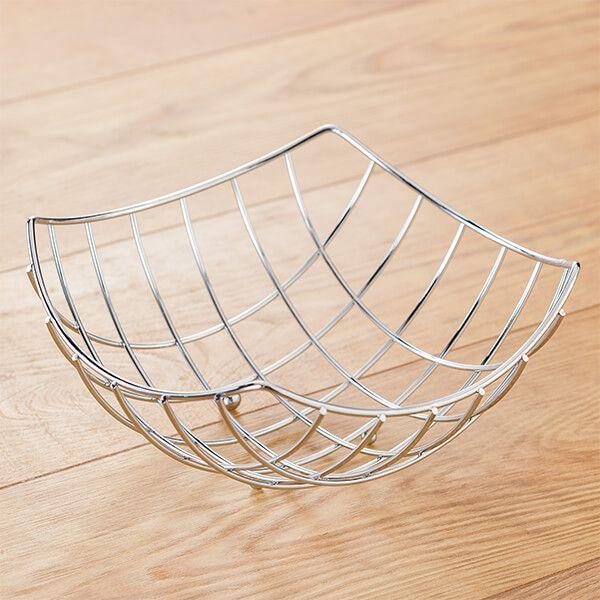 Judge Wireware 24cm Square Fruit Basket