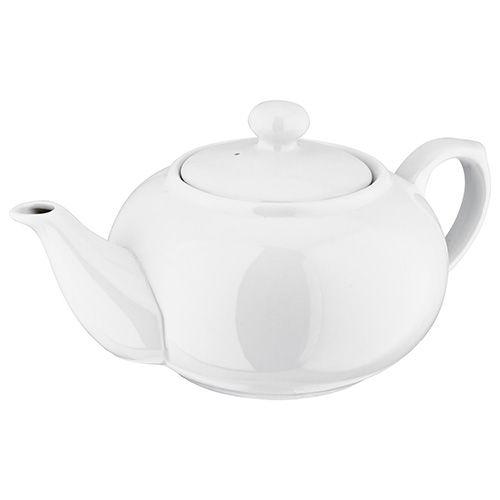 Judge 6 Cup Tea Pot White