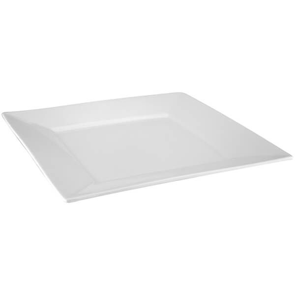 Judge Table Essentials 26 x 26cm Square Dinner Plate