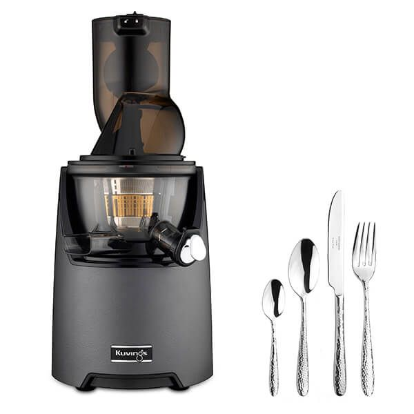 Kuvings EVO820 Evolution Cold Press Juicer Gunmetal With Free Gift