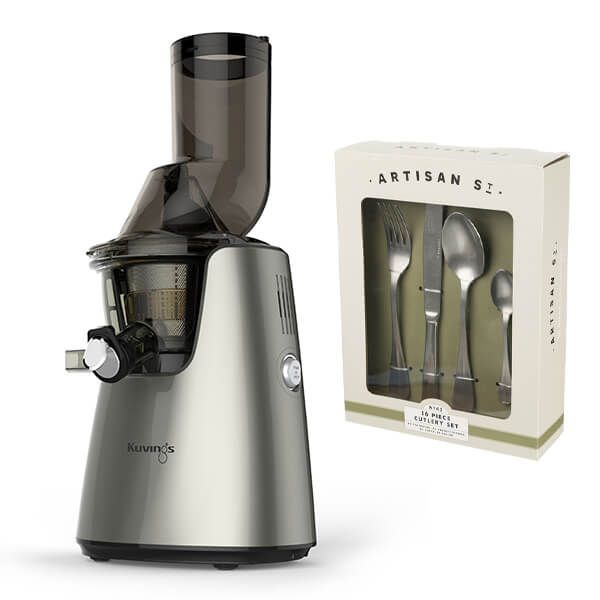 Kuvings C9500 Whole Slow Juicer Silver with FREE Gift