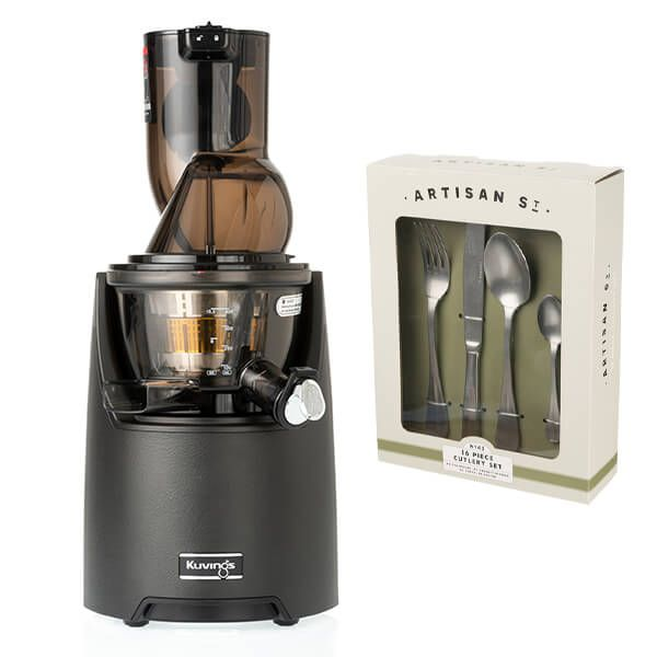 Kuvings EVO820 Evolution Cold Press Juicer Black with FREE Gift