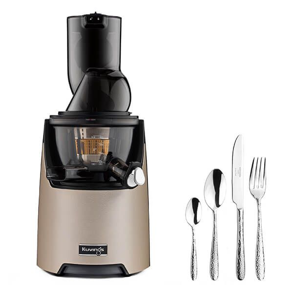 Kuvings EVO820 Evolution Cold Press Juicer Champagne Gold With Free Gift