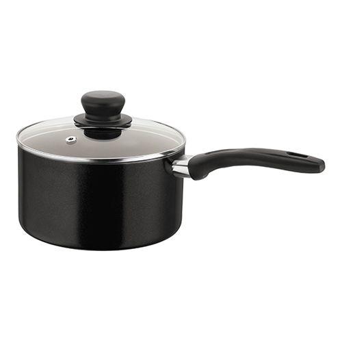 Judge Radiant Black Non-Stick 18cm Saucepan 1.6L