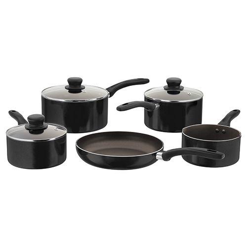 Judge Radiant Black Non-Stick 5 Piece Saucepan Set