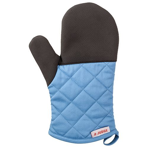 Judge Textiles Traditional Oven Mitt, Blue