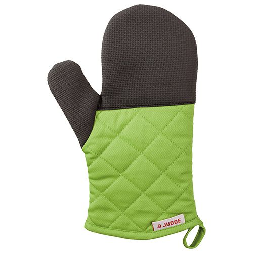 Judge Textiles Traditional Oven Mitt, Green