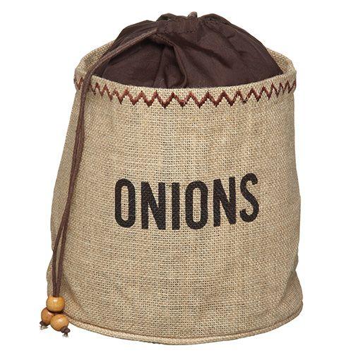 Natural Elements Onion Jute Sack