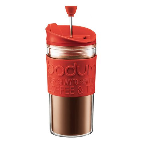 Bodum Travel Press Set Red