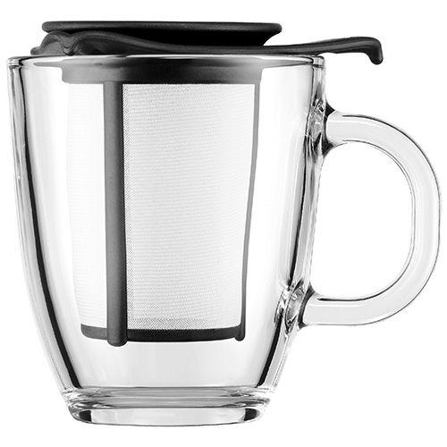 Bodum Yo-Yo Tea Strainer Set Black