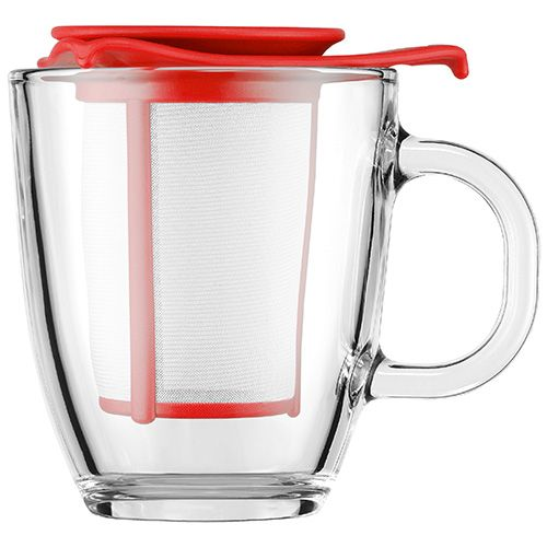 Bodum Yo-Yo Tea Strainer Set Red